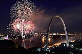 new year s st louis where are the fireworks we map options for viewing on