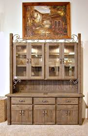 Dining Room With China Cabinet by China Cabinet Hutch With Wine Rack Sph481 Handmade Dining