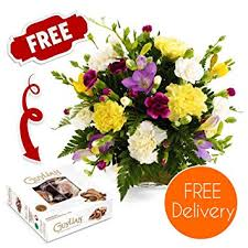 fresh flower delivery fresh flowers delivered friendship bouquet including carnations