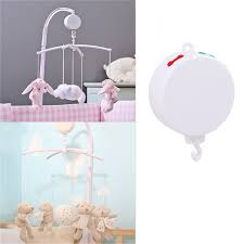 Bed Song 2017 Wholesale Song Rotary Baby Mobile Crib Bed Bell Toy Battery