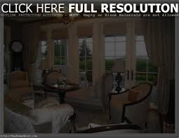 deluxe bathroom window treatment ideas with elegant brown curtains