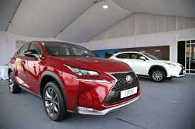 lexus suv malaysia 2015 lexus nx compact suv makes official debut in malaysia