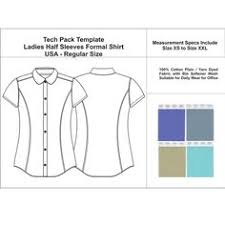 tech pack template v neck full sleeves t shirt available for