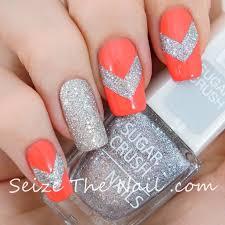 264 best chevron nail art images on pinterest chevron nail art