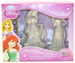 amazon com disney princess paint your own statue rapunzel and