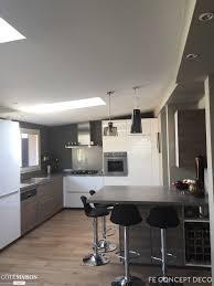 cuisine ouverte sur s our cote maison cuisine ouverte idées décoration intérieure farik us