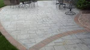 Flagstone Stamped Concrete Pictures by Concrete Stamping Schroder Concrete Omaha Ne