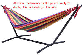 aliexpress com buy portable camping hammock stands outdoor