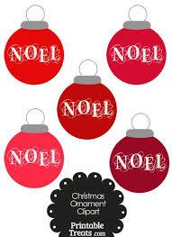 noel ornament printable treat cone from printabletreats