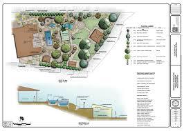 decoration residential landscape architecture plan and design plan