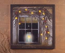 lighted canvas pictures battery operated wall