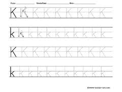 free letter tracing worksheets