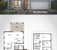 two storey house design with floor plan bedroom bungalow plans