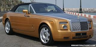 gold rolls royce golden rolls royce drophead coupe photo gallery autoblog