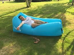 canap gonflable piscine chaise longue gonflable canapé chaise longue de plage avec sac de