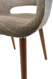 eames saarinen replica organic chair light brown