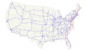 American Route Map by U S Route 1 Wikipedia