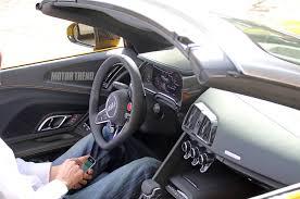 Audi R8 Interior - spied 2017 audi r8 spyder caught in the buff