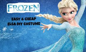 frozen costume easy diy elsa frozen costume