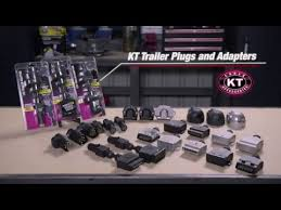 kt cables trailer plug 7 pin small round led supercheap auto