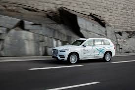 volvo sweden swedish family to pilot fully autonomous volvo xc90