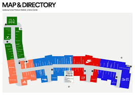 Map Of Loudoun County Va Leesburg Premium Outlets Leesburg Va Ettractions Com