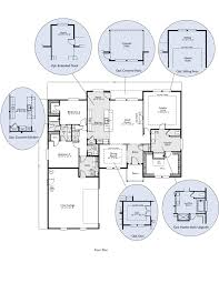 floor plans with great rooms the klickitat custom home floor plan adair homes