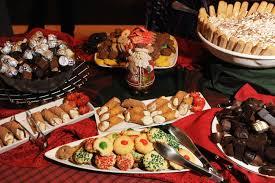 christmas dessert buffet the dessert buffet included a variety of italian sweet treats like
