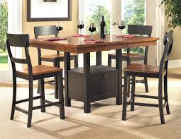 lifestyle my011 dining 5 piece storage pub table and pub chair set