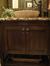 Powder Room Vanity Sink Cabinets - half bath design pictures remodel decor and ideas page 42