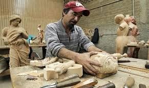 cedar wood sculpture jalisco craftsmen furniture accessories for pope s visit