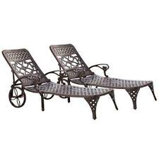 aluminum outdoor chaise lounges patio chairs the home depot