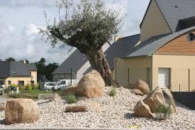 decoration minerale jardin parterre sec et aménagement de bord de terrasse youtube
