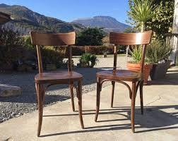 Wooden Bistro Chairs Bistro Chair Etsy
