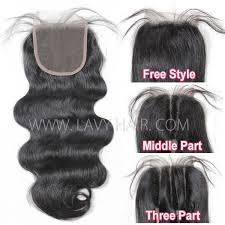 top closure lace top closure 5 5 quot wave human hair medium brown swiss
