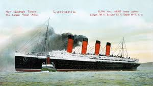 sinking of the lusitania http www history com news the sinking of rms lusitania 100 years