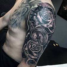 Male Flower Tattoos - the 25 best half sleeve tattoos ideas on pinterest half sleeves