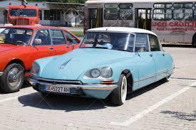 vintage citroen cars skopje macedonia june 13 2015 old citroen on 10th old timer