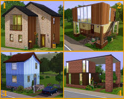 mod the sims 20 base game starter homes no cc