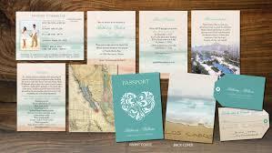 wedding booklets cabo passport wedding booklets los cabos mexico luggage