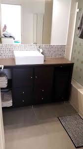 Small Bathroom Vanity by Kallax Bathroom Vanity For Small Bathroom Ikea Hackers Ikea