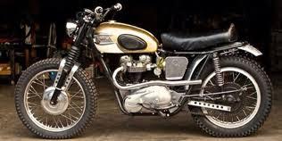 triumph motocross bike dirt bike vintage