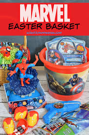 marvel easter basket and diy avengers fillable eggs eclectic
