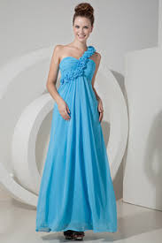 sky blue bridesmaid dresses sky blue chiffon bridesmaid gown