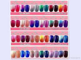 perfect match mood changing color gel polish soak off uv led