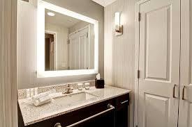 Lighted Bathroom Mirror by Lighted Bathroom Mirror U0026 Roomy Closet Picture Of Homewood