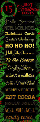 best christmas cards 15 best free christmas fonts food folks and