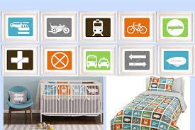 Transportation Nursery Decor Transportation Nursery Decor Transportation Wall