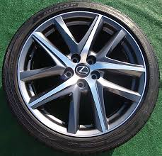 lexus wheels and tires new genuine oem factory lexus gs f sport turbo performance 19 inch