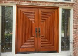 wooden door designs furniture remarkable big wooden strong front door with iron